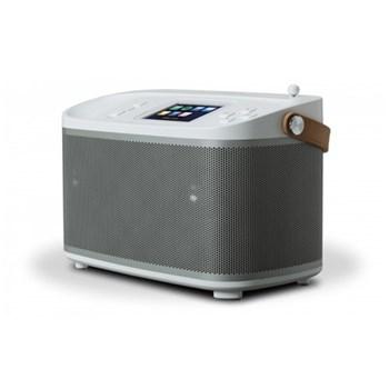 R-Line R100 Multiroom bluetooth speaker base station, H16 x W24 x D13cm, white