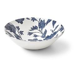 Burleigh - Garden Vine Cereal bowl, 17 x 5cm, indigo