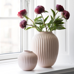 Hammershoi Vase, H21 x W16.5cm, rose