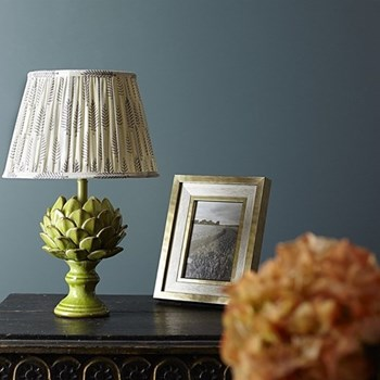 Artur Small table lamp - base only, H28 x W17cm, leaf crackle glaze