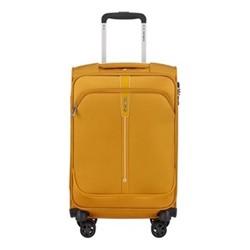 Popsoda Spinner suitcase, 55 x 35 x 20cm, yellow