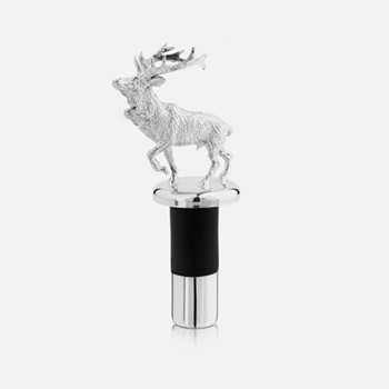 The Highland Safari Collection Stopper, D4.5 x H11cm, stag