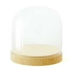 Pleasure Dome Small display case, W12.5 x H13cm, beech