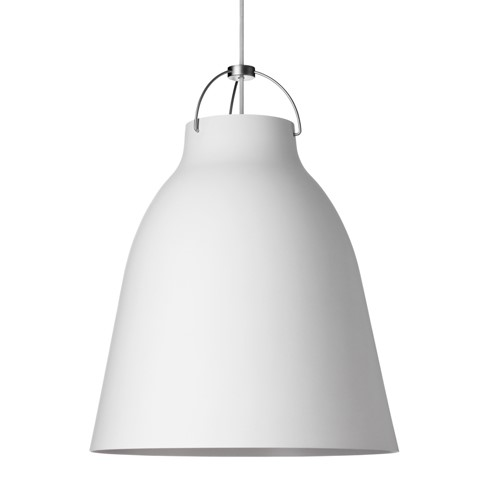Caravaggio-P3 Pendant lamp, H51 x Dia40cm, Matt White