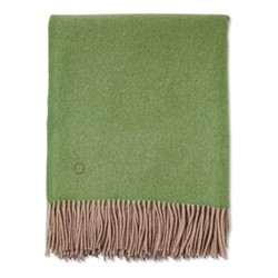 Uno Throw, 200 x 145cm, green/taupe