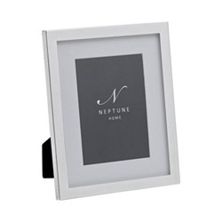 "Newton Photo frame, 5 x 7"", silver plated"