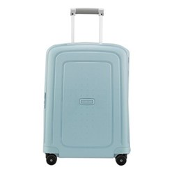S'Cure Spinner suitcase, 55 x 40 x 20cm, stone blue stripes