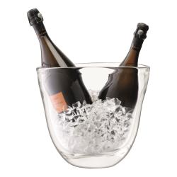 Celebrate Champagne bucket, H27cm, clear