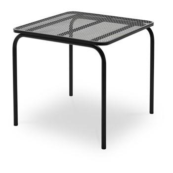Mira Table, L80 x W80 x H73cm, anthracite black
