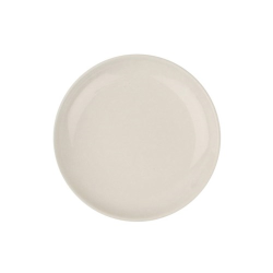 Shell Bisque Set of 4 small plates, 12.7cm, White