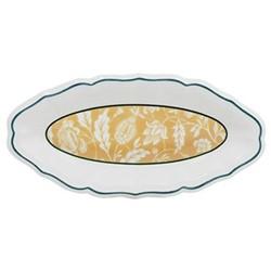 Dominoté - Indiennes Pickle dish, 26.5 x 13cm
