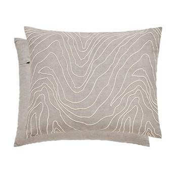 Makrana Cushion, L50 x W40 x H10cm, stone