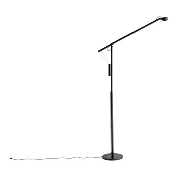 Fifty-Fifty Floor lamp, W25 x D90 x H135cm, black