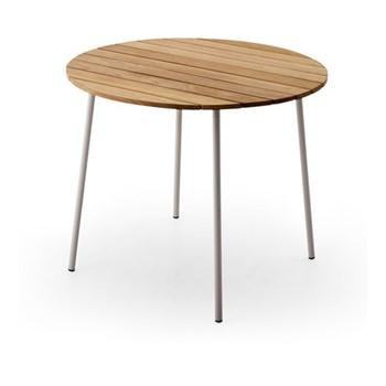 Flux Table, Dia89 x H73cm, light grey