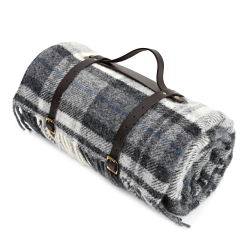 Polo Picnic rug, 145 x 183cm, Cottage Grey With Black Back