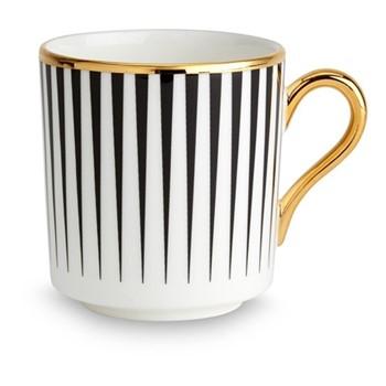Lustre Espresso cup, D6 x H6.7cm, black stripe