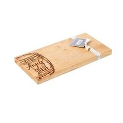 The Angel's Share Small serving board, L30 x W15 x H2cm, oak