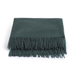 Portobello Single throw, olive cashmere