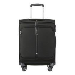 Popsoda Spinner suitcase, 55 x 40 x 20cm, black