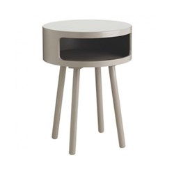 Bumble Side table, D40 x H56cm, grey