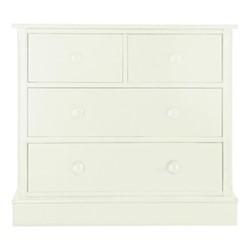 Charterhouse Chest of drawers, H81 x W91 x D52cm, antique white
