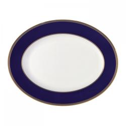Renaissance Gold Oval platter, 39cm