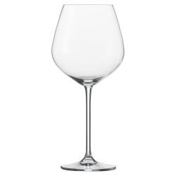 Fortissimo Set of 6 burgundy glasses, 74cl