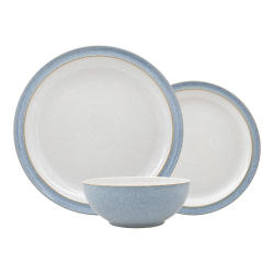 Elements 12 piece tableware set, Blue