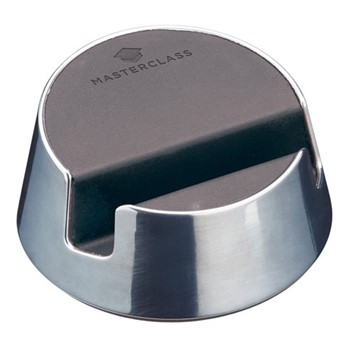 MasterClass Reversible tablet stand/spoon rest, 9.5 x 8 x 4cm, chrome