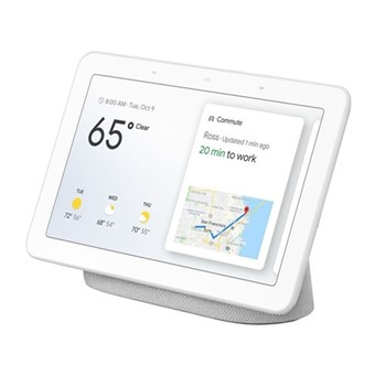 Google Home Hub smart speaker, chalk