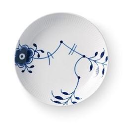 Blue Fluted Mega Rimless plate, 20cm