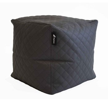 Cube - Quilted Cube, 40x45x45cm, smoke grey