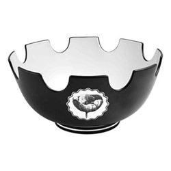 Herbariae Salad bowl, 27 x 13cm, black