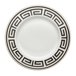 Labirinto Plate, 30.5cm, nero