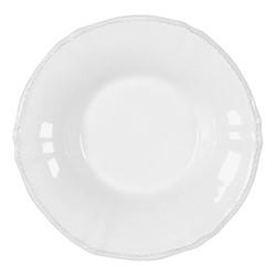 Village Set of 6 soup plates, 23cm, White