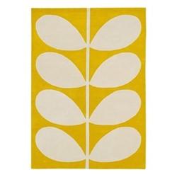 Stem Rug, 160 x 230cm, yellow