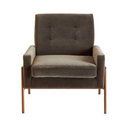 Jagger Chair, W75 x H82 x D81cm, concrete