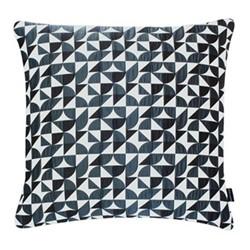 Brasilia Large square cushion, 56 x 56cm, grey