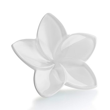 The Bloom Collection Flower ornament, W4 x L9cm, white