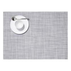 Mini Basketweave Set of 4 rectangular placemats, 36 x 48cm, mist