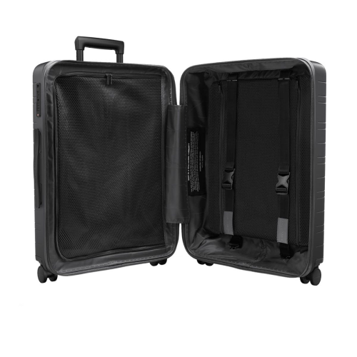 H6 - Smart Luggage Medium check-in trolley suitcase, H46 x W24 x D64cm, Graphite