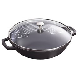 Small wok, 30cm, black