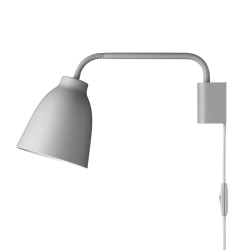 Caravaggio Read Wall lamp, H20.6 x L35cm, Grey25