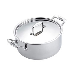 Fusion 5 Dutch oven with lid, 5.2 litre - D24cm, stainless steel