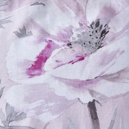 Arctic Poppy Kingsize duvet set, Blush
