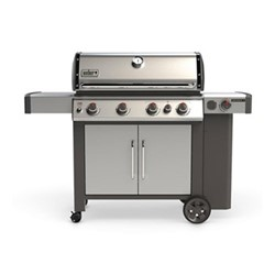 Genesis II SP-435 GBS Gas barbeque, H120 x W165 x 74cm, stainless steel
