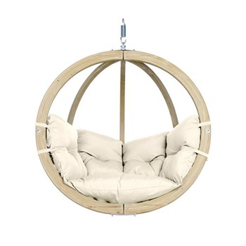 Globo Hanging chair, 121 x 118 x 69cm, natura