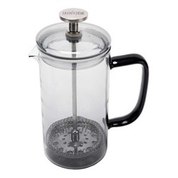 Colour Cafetiere, 8 cup - 1 litre, smoke grey