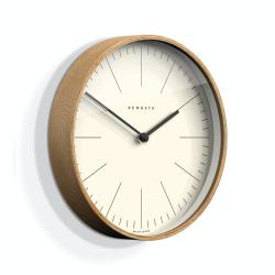 Mr Clarke Wall clock, Dia40cm, Pale Wood Finish