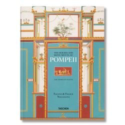 The houses and monuments of pompeii - Fausto & Felice Niccolini